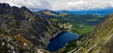 orla: Panoiramic of Tatras mountain
