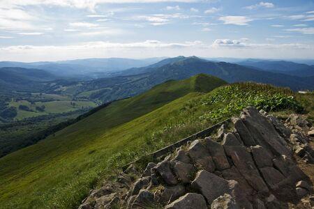 Green mountain Bieszczady photo