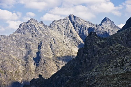 The highest peak in Polish Tatra mountains photo