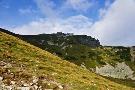 High Tatras region crawler hall. photo