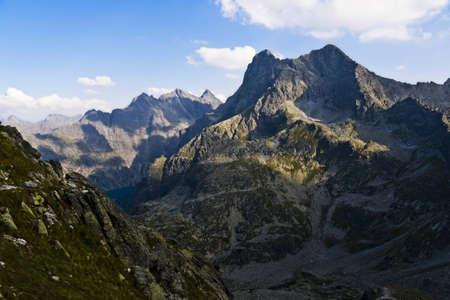 High Tatras area of the valley as a monk photo