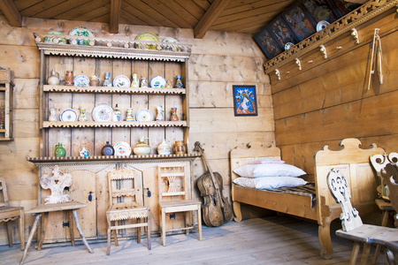 regional: Regional interior mountain hut