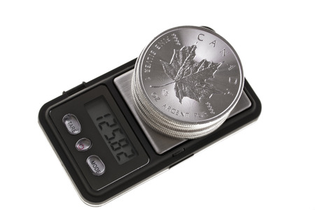 an ounce: Canadian Silver Coin Investment, one ounce troy