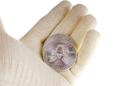 coin silver: Silver bullion coin investment, American Eagle
