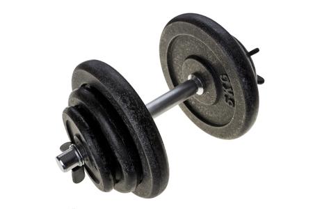 kilos: Black heavy dumbbell