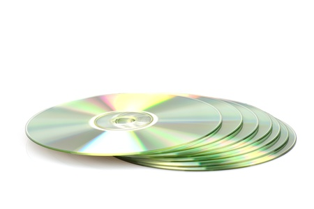 Stack of 7 DVDs  CDs