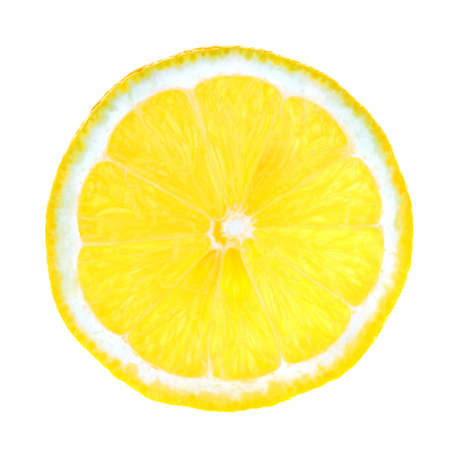 A slice of lemon x-rayed  photo
