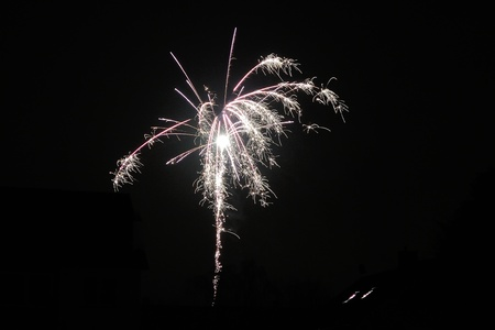 New Year Firework Stock Photo - 16945922