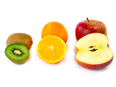 Various vitamin-rich fruits