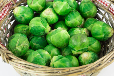 Sprouts in basket