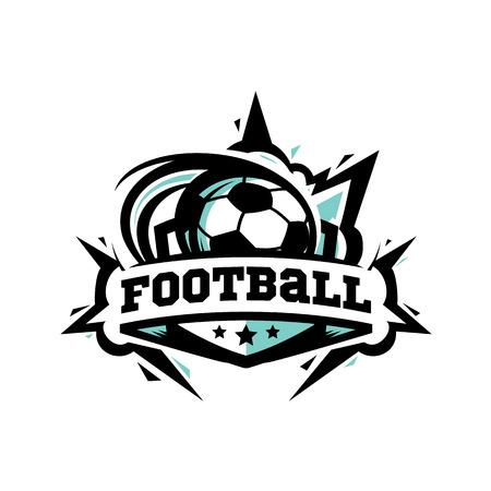 Swoosh Football Logo Vector Logo