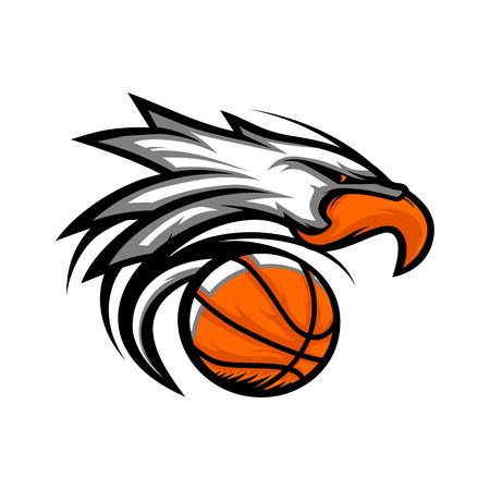 Eagle Basketball Ball Logo