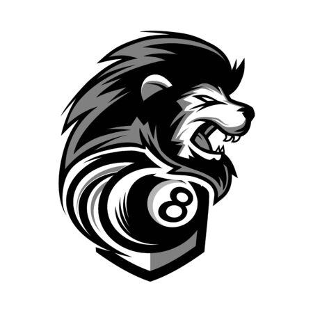 Lion Head Team Logo