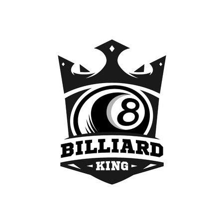 King Billiard Logo vol 2.0