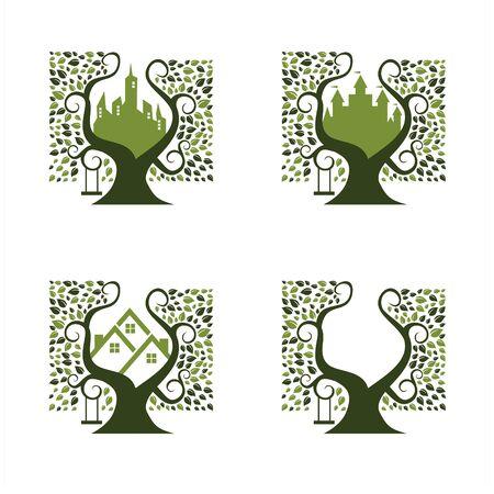 City Park Logo Set of 4