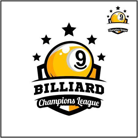 sport ball champions league logo vector Stok Fotoğraf - 129994618