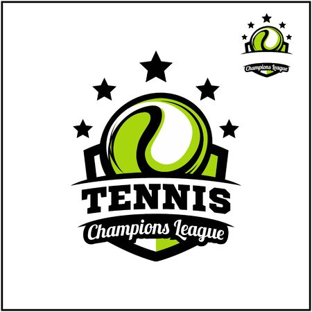 sport ball champions league logo vector  イラスト・ベクター素材
