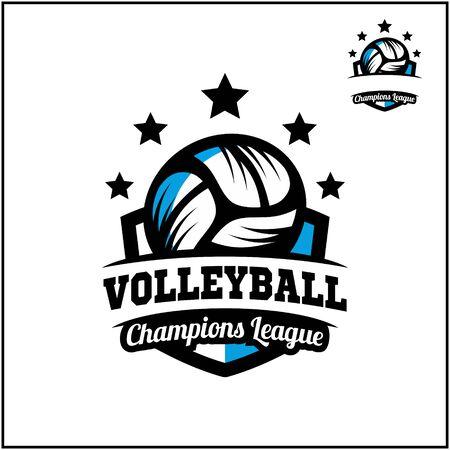 sport ball champions league logo vector Illusztráció