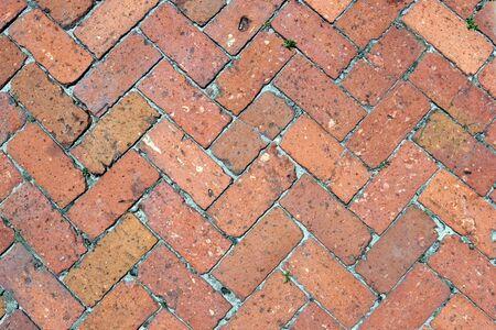schemes: Brick Path Stock Photo