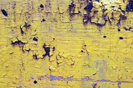 peeling paint: Paint peeling