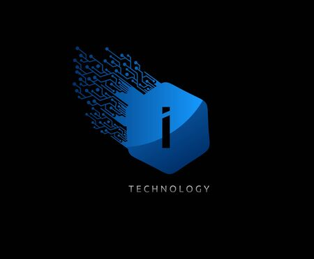 Hexagon J Letter Techno Logo Icon. Perfect for communication, technology, netwok, computer and hitec company.