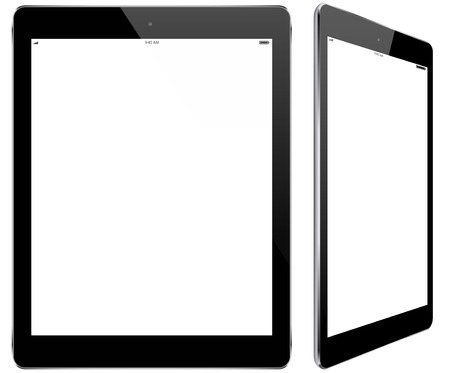 modern tablet Vectores
