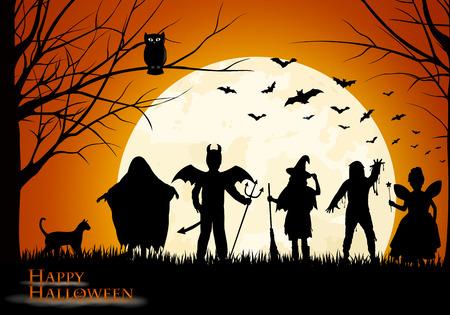 the hangover: Halloween background