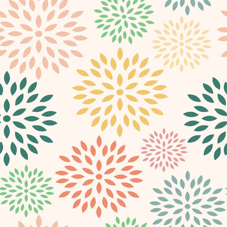 Seamless floral pattern for wrapping paper and packages Vectores