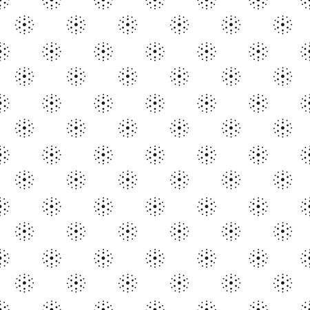 seamless dot pattern easy to edit Vectores