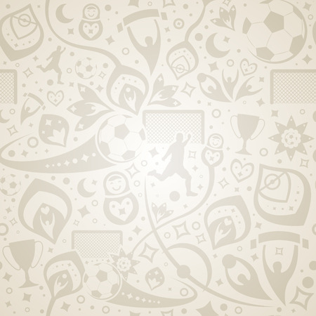 seamless cream soccer background