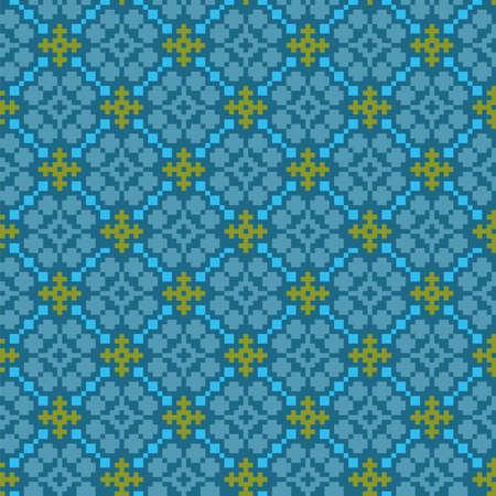 Traditional Scandinavian, Baltic, East European ethnic ornaments. Seamless pattern set. Vector illustration