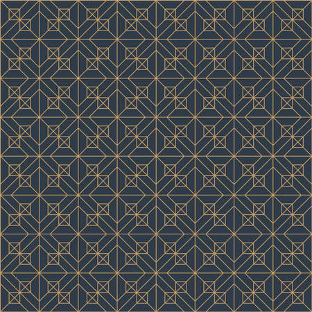 Classic parquet pattern and textile ornament