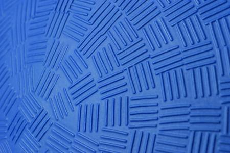 Pattern Design of Blue Rubber Ball. photo