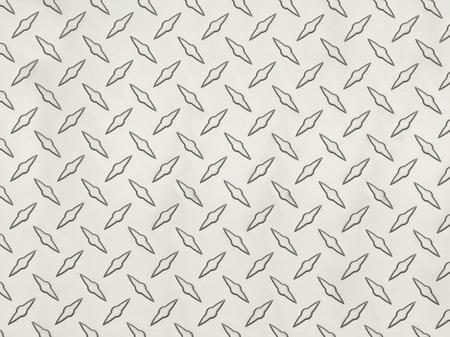 treadplate: Clean Grey Metal Diamond Tread Pattern Background Texture.