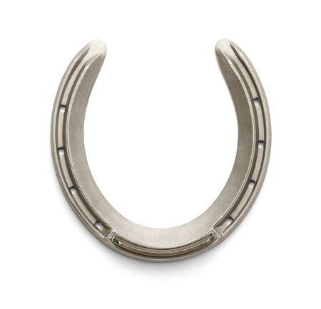 horse shoe: New Racing Horseshoe Isolated on White Background.