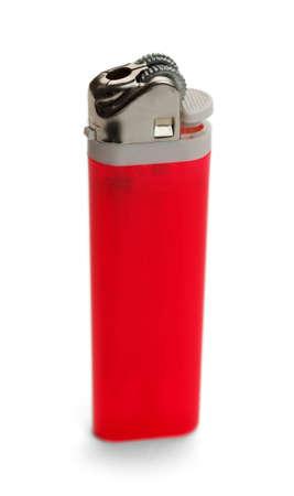 cigarette lighter: Cigarette Lighter Isolated on White Background. Stock Photo