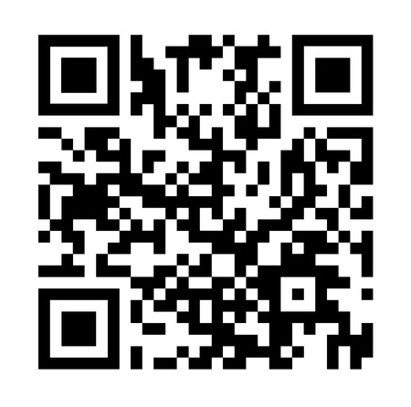 bbm: Square barcode  Isolated on White Background.