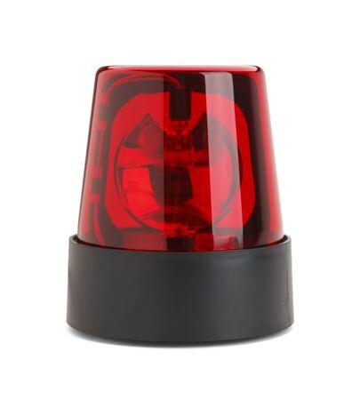 emergency light: Emergency Light Isolated on White Background.