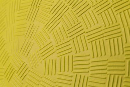Pattern Design of Yellow Rubber Ball. photo