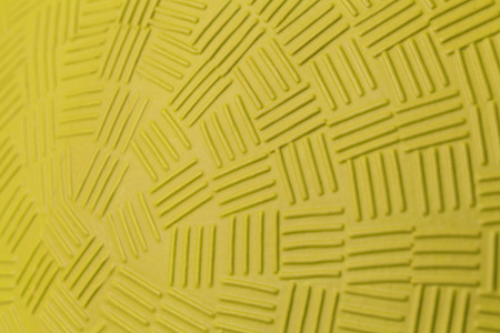 foursquare: Pattern Design of Yellow Rubber Ball.
