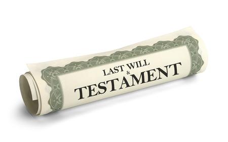 白背景に、スクロールと新約聖書ペーパー分離をロールバックされます。