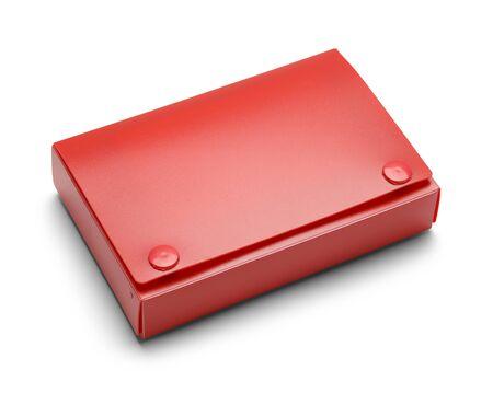 directorio telefonico: Cerrado titular de la tarjeta �ndice aisladas sobre fondo blanco.