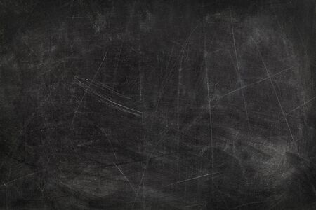 erased: School Blackboard Erased and Smudged With Copy Space. Stock Photo