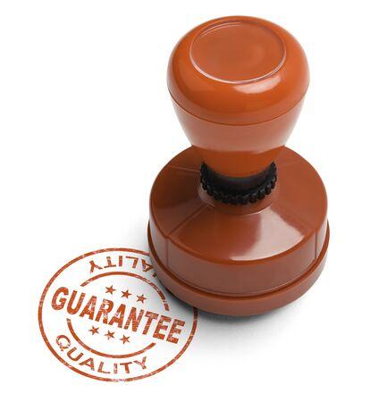 validez: Calidad de Red Garantía Stamper aislados sobre fondo blanco.