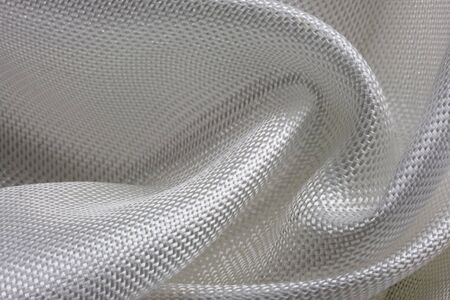 fiberglass: macro de tela de fibra de vidrio compuesto en un modelo de turbulencia