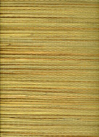beach mat: grass woven into a beach mat from Hawaii Stock Photo