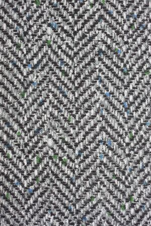 fabric textures: tweed textile background with herringbone pattern from a vintage book cover Stock Photo