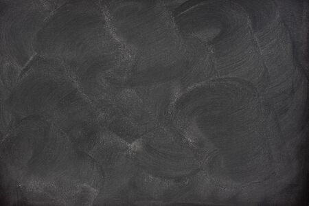 smudge: blank blackboard with swirly patterns of eraser smudges and chalk dust