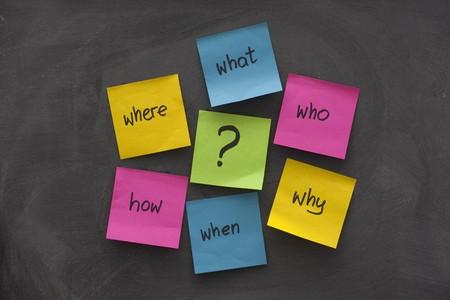 mindmap: con un simple Mindmap preguntas (qu�, cu�ndo, d�nde, por qu�, c�mo, qui�n) para resolver un problema con el envi� de las notas adhesivas de color pizarra