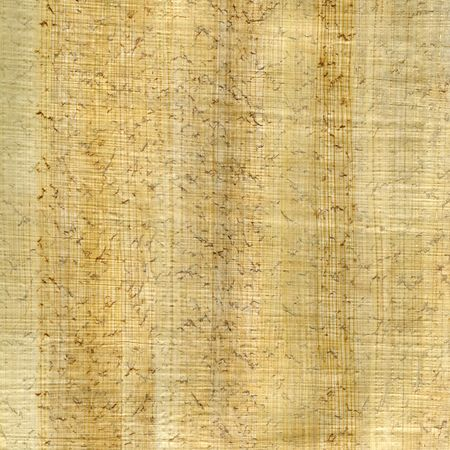 crumpled and wrinkled papyrus paper texture with fiber pattern